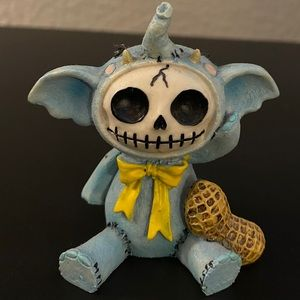"💕3/$25 3"" elephant furrybone figurine"